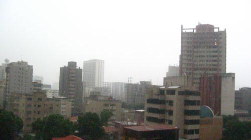 La lluvia se tragará a Caracas