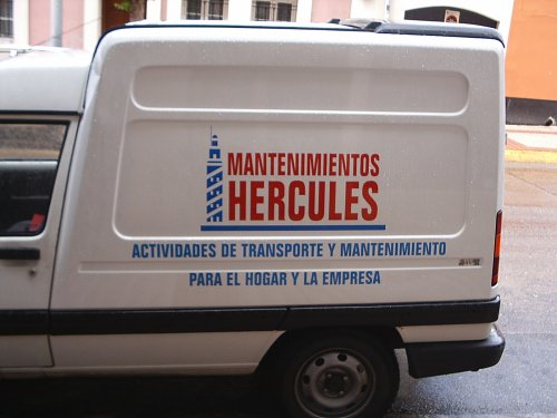 furgoneta de Mantenimientos Hercules