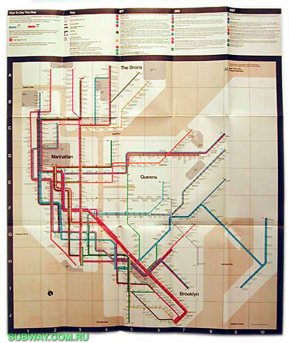 Nyc Subway Map Ebay.1972 Subway Map Being A Native New Yorker Ain T Easy Peop Flickr