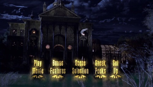 Haunted Mansion DVD menu | A screen grab from Walt Disney Pi… | Flickr