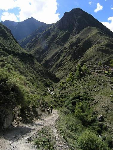 hills near garu
