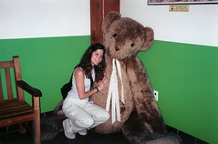 Giant Bear at Vermont Teddy Bear Company