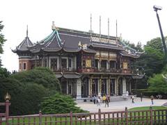 Chinees paviljoen, Van Praetlaan, Brwsel