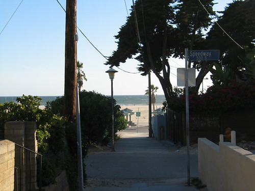 walk street beach shot