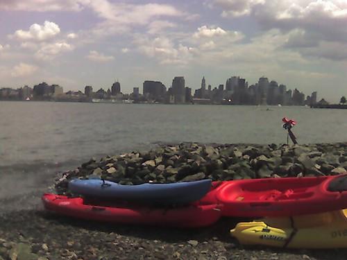 Hoboken Kayaking Today