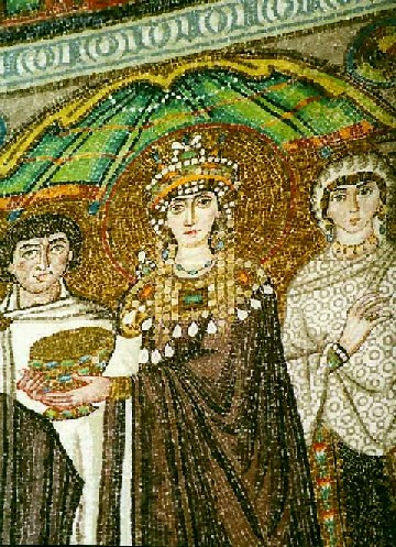 Ravenne, Saint-Vital, Theodora | by Antiquité Tardive
