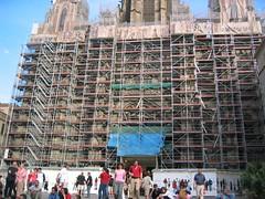 La catedral de Barcelona, en obres