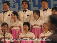 Coral coreano de abertura