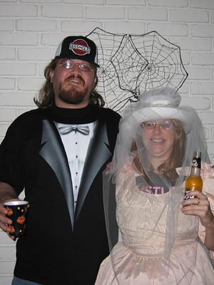 White Trash Wedding.White Trash Wedding Halloween Party And A Mullet Pamela