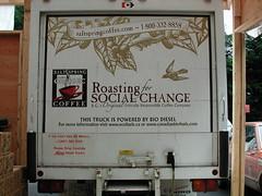 Powered by bio-diesel