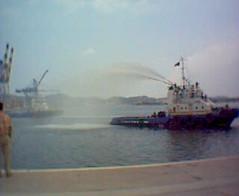 En al puerto de Manzanillo...