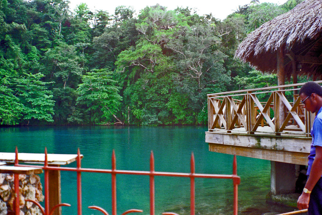Jamaica Blue Lagoon Frenchman S Cove Where Many Of The S