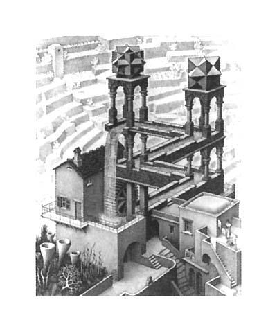 Escher: vandmøllen