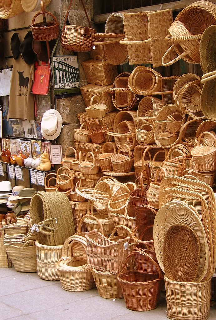 Baskets in Segovia