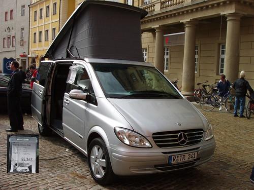 Regensburg, Mercedes Camper (55,362 Euros)... click for larger image