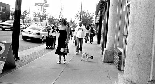 walkin' the dog