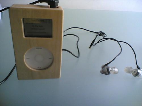 Wooden iPod Mini #2