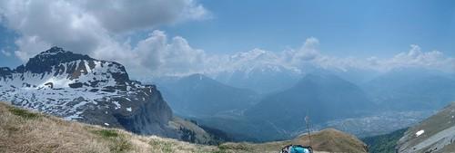 panoramic - Desert de Plate 3 Mt Blanc