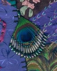 Peacock Earing