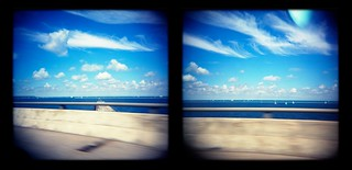 Lake Michigan from 794 on the Hoan Bridge | by plural