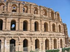Roman amphitheatre in El Djem