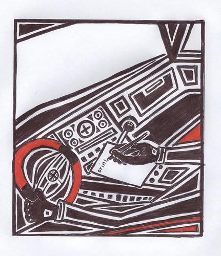 "Writing and Driving | by Mike ""Dakinewavamon"" Kline"