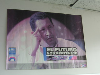 Hugo Chavez poster - older | by blmurch
