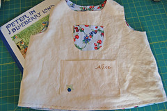 pinafore for berry picking   by SouleMama