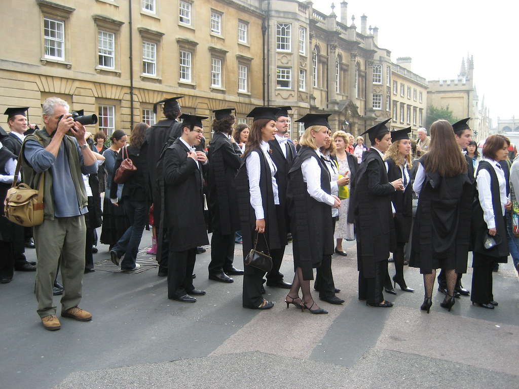 Matriculation, Outside the Sheldonian