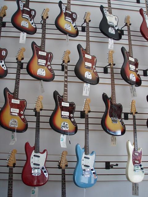Fender Jazzmasters, Jaguars, Mustangs and more