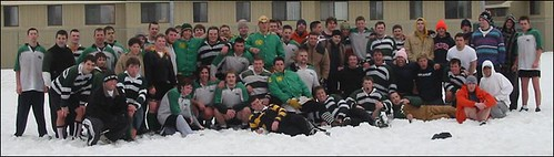 Parkside rugby game