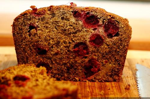 recipe: banana-cranberry bread - _MG_6313   by sean dreilinger