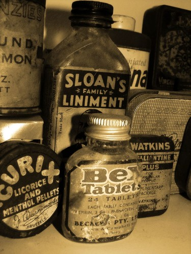 My Old Medicine bottle/ jar collection | by aussiegall
