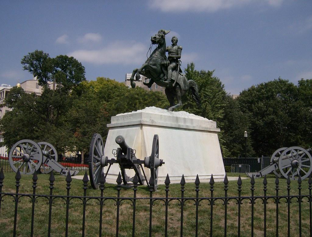 Lafayette Park Andrew Jackson Lafayette Park Has Been