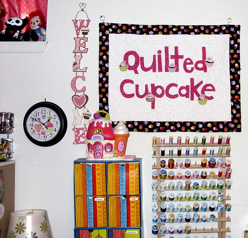 Studio mini-update | by Quilted Cupcake