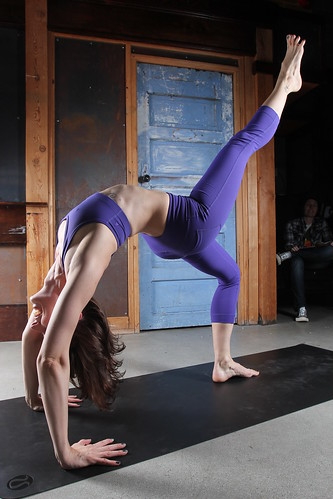 urdhva dhanurasana  upwardfacing bow pose variation