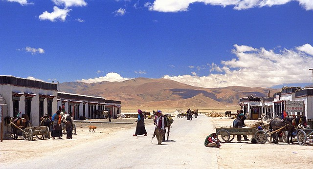 Tingri streetlife Tibet