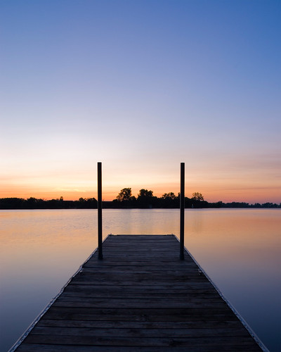sunset lake water minnesota landscape dock d80 18200mmf3556
