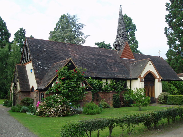 Orthodox Church of St Edward the Martyr, Brookwood