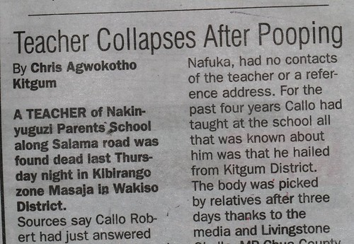 Teacher Collapses After Pooping | by cowyeow