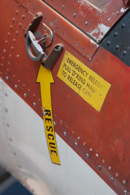 In emergency pull ring