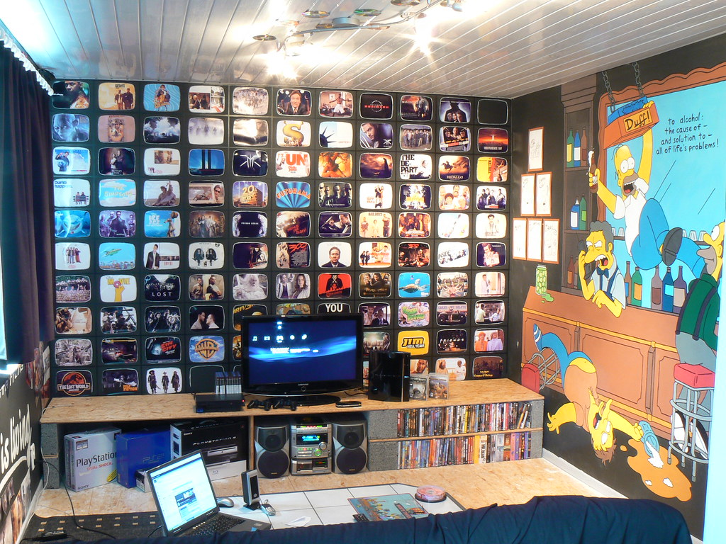 Enjoyable My Game Room Bedroom 1 Playtime Dennisbq Flickr Download Free Architecture Designs Scobabritishbridgeorg