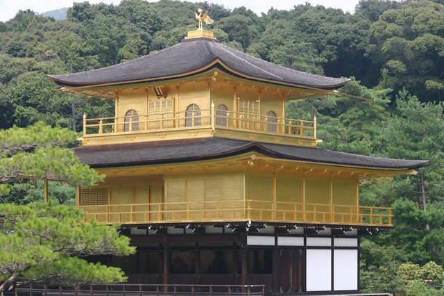 Kinkaku-ji, The Temple of the Golden Pavilion - Kyoto, Japan, 2007.