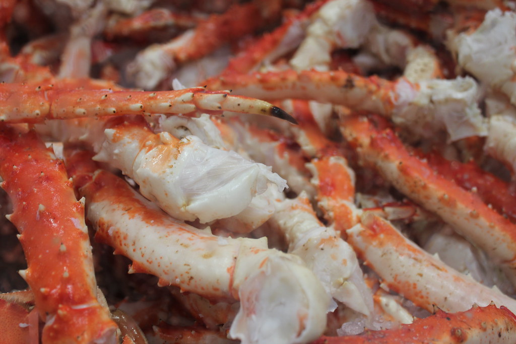King Crab Legs @ Costco San Francisco | King Crab Legs @ Cos