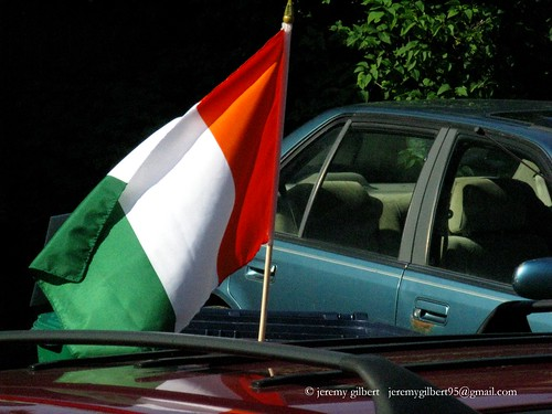 Cote d'Ivoire World Cup supporter
