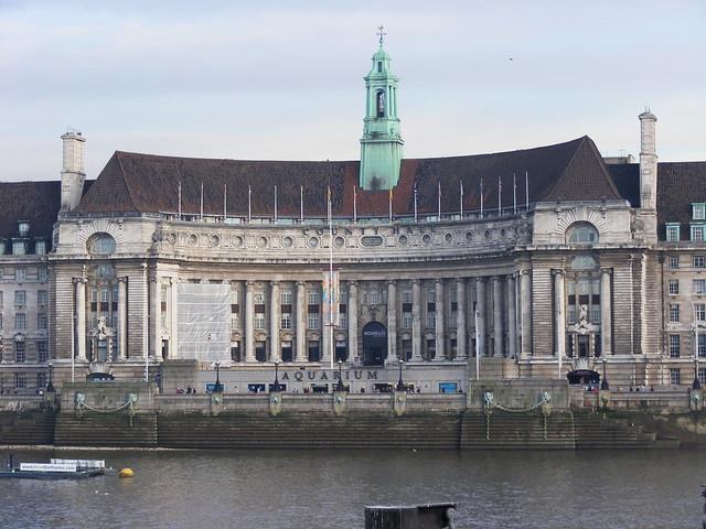 City hall London November 2010