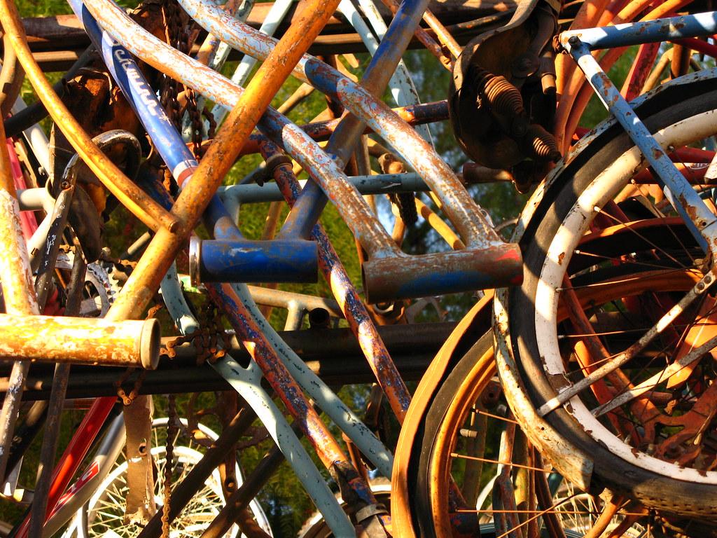 Bike shop   Nice antique bike shop in downtown San Jose ...