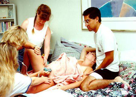 Woman Giving Birth Hospital | Myka Fox | Flickr