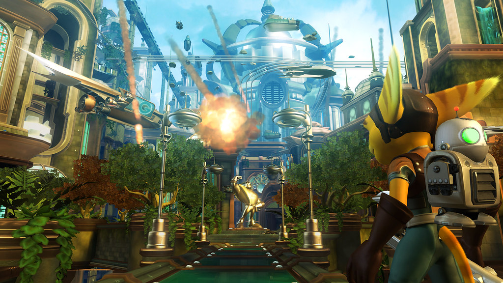 Ratchet Clank Future Tools Of Destruction Rcf Sneak Pee Flickr