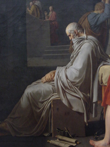 Death of Socrates (detail) (1787) | by rjhuttondfw